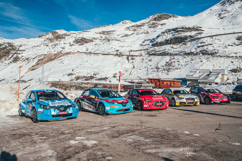 An impressive grid for the new e-Trophée Andros