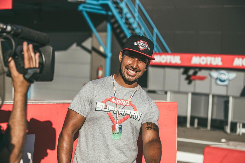 Motul superfan Samuel El Nieto takes the Superfan experience to a whole new level!