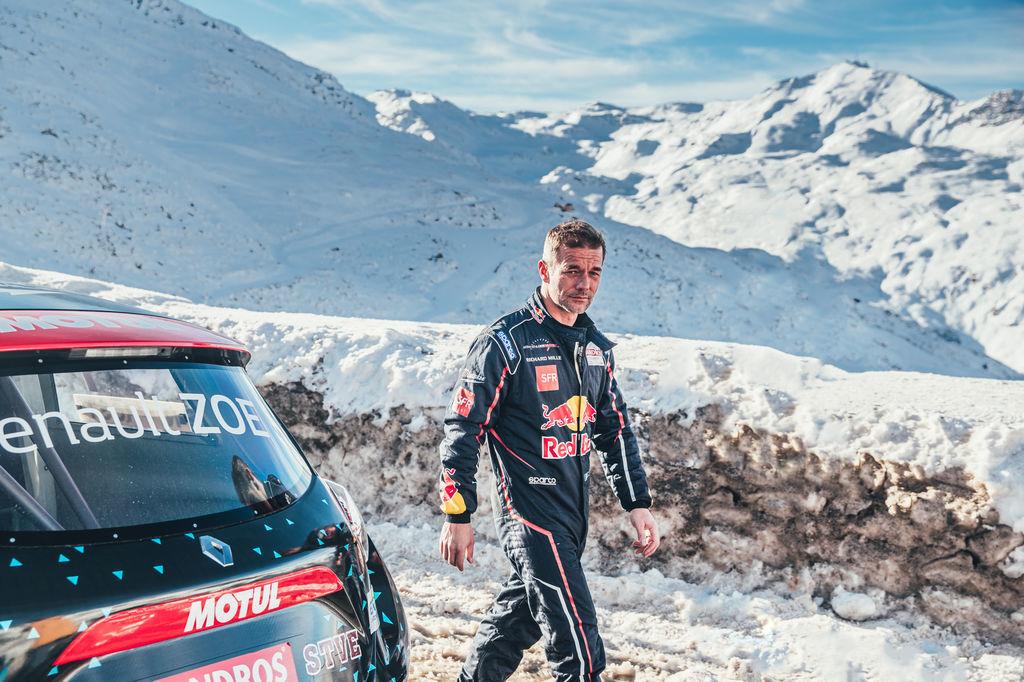 Легендарные чемпионы на снегу французского Валь Торанс