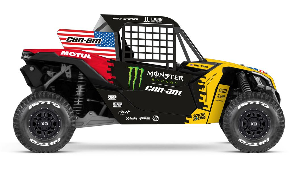 Motul turns to South Racing and Dakar 2020 with leading Monster Energy Can-Am factory team