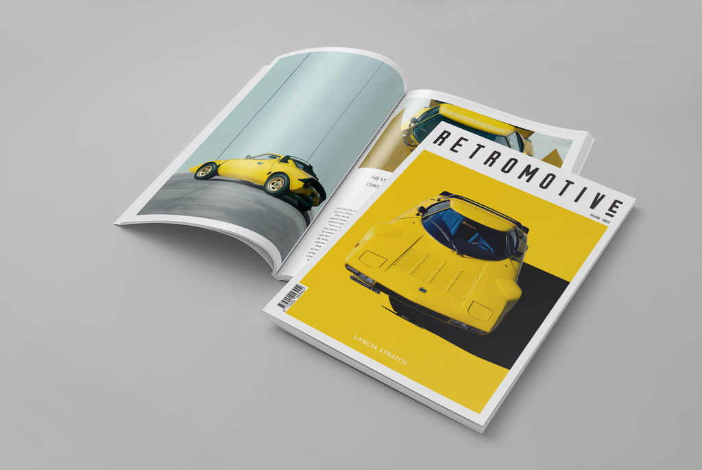 Meet Retromotive Magazine, the premium coffee table magazine containing high-octane automotive content.