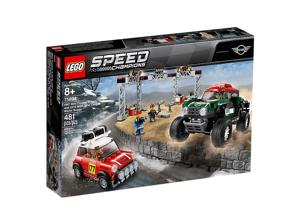 LEGO SPEED CHAMPIONS MINI AND DAKAR SET!