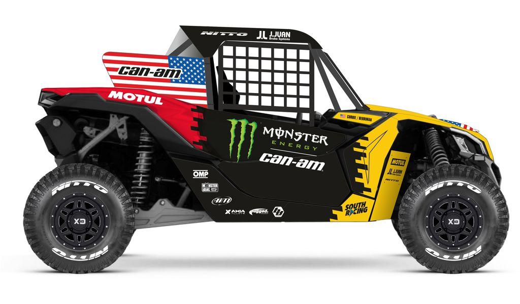 DAKAR 2020: Motul se alia a equipe de fábrica Monster Energy Can-Am