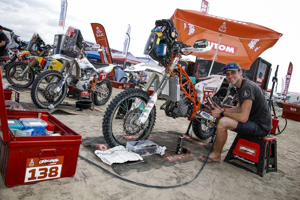 Motul, el mejor aliado del piloto en el Dakar