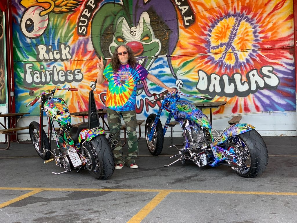 Motul USA is proud to announce a partnership with legendary custom chopper builder Rick Fairless to support both Strokers Dallas and Punch Wally garage.