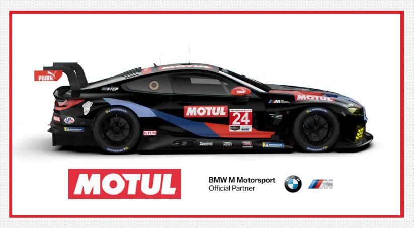 Συναρπαστική νέα συνεργασία μεταξύ Motul και  BMW M Motorsport στις ΗΠΑ!