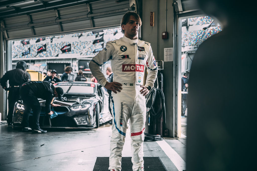 Just before we caught up you had a final briefing with your engineer. How complicated is it to drive a race car like the BMW M8 GTLM?