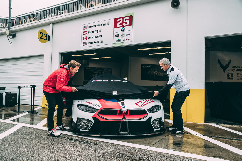 The M8 racing programme is called Mission 8. What is the mission and how is it evolving?