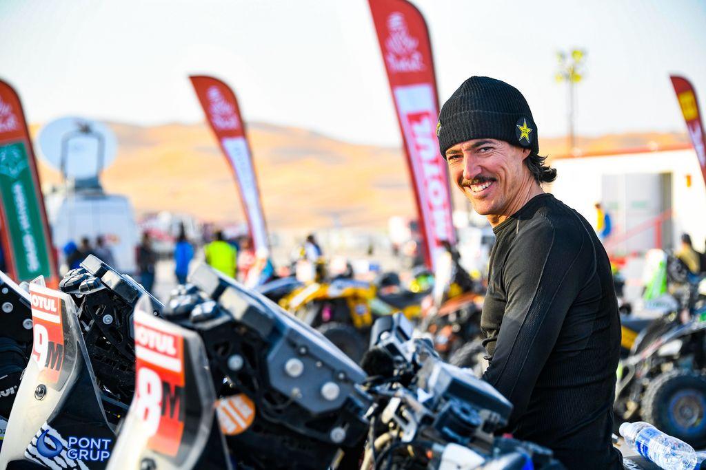 Tres españoles consiguen terminar el Dakar en su categoría más dura, Original by Motul
