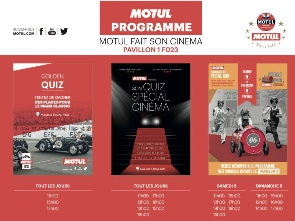 SPOTLIGHT ON MOTUL AT RETROMOBILE 2020!