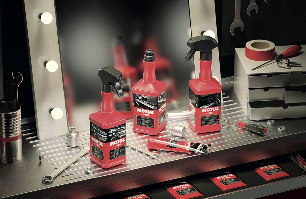 NEW MOTUL CAR CARE RANGE LAUNCHED AT RETROMOBILE 2020