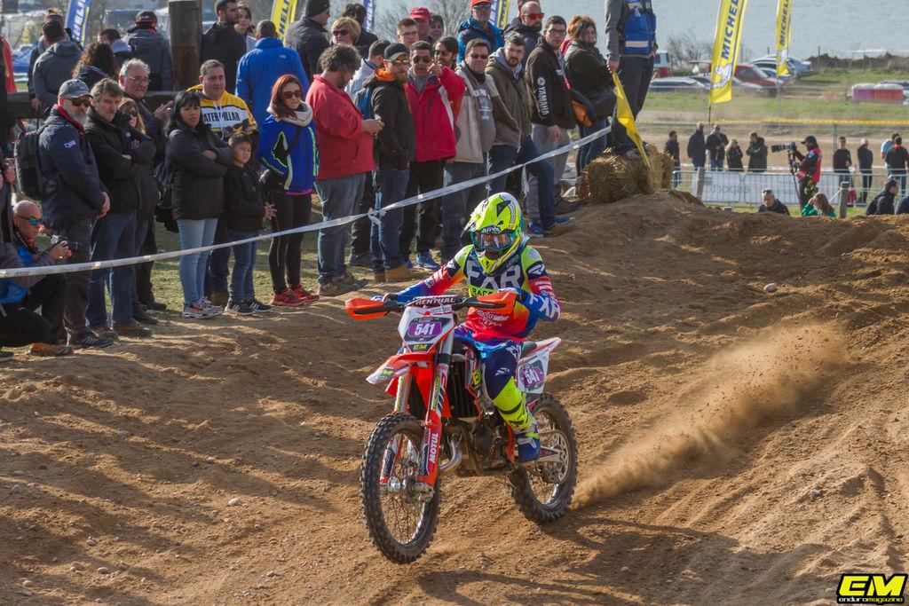 VICTORIA DE ALEIX SAUMELL EN BASSELLA RACE 1 - CADETE 125