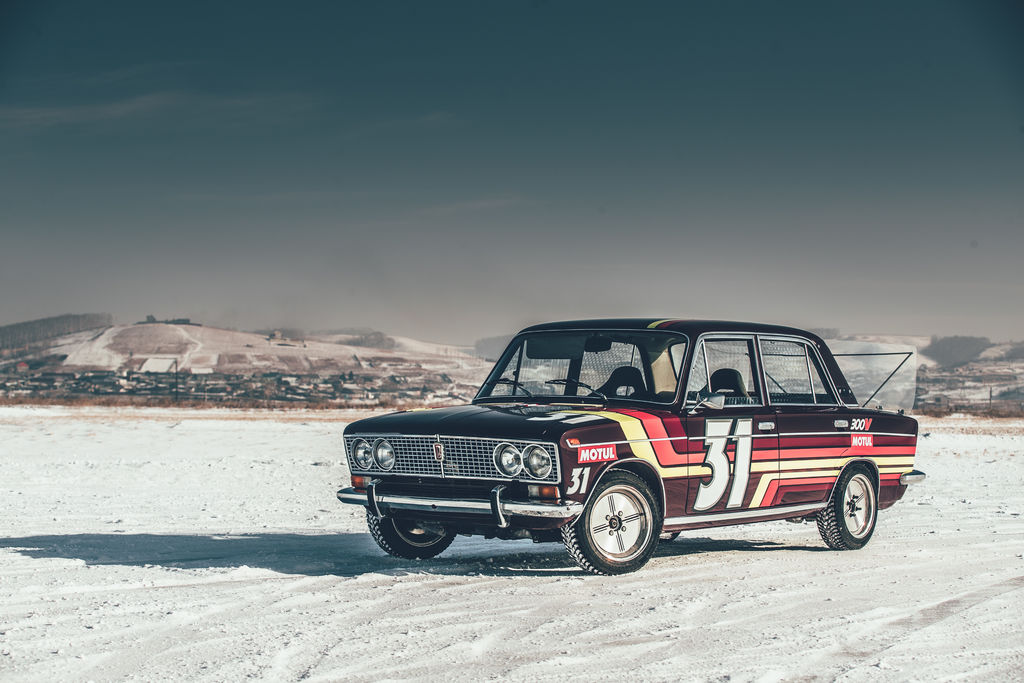 The anatomy of... a winter-spec Lada drifter