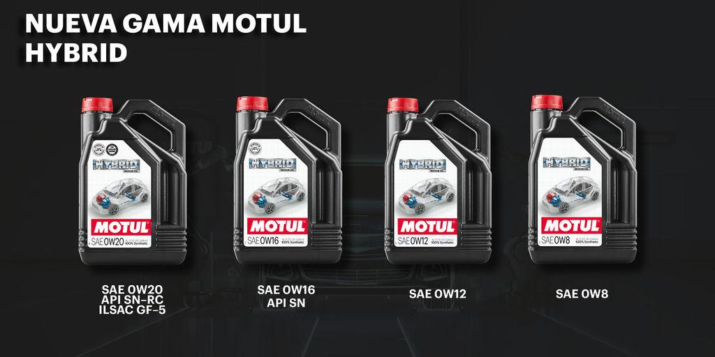 Motul lanza la primera gama completa del mercado para vehículos híbridos