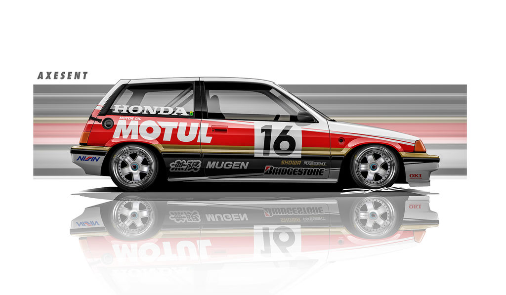 Tell us about your renders with Motul liveries