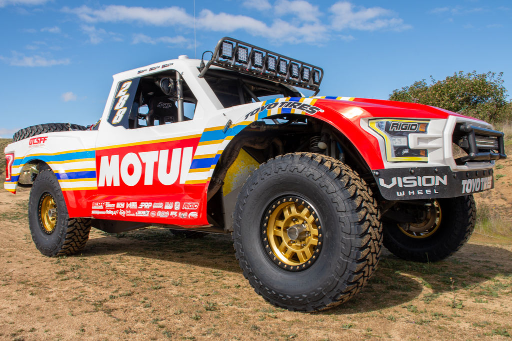OTSFF'S ANDRE LAURIN: I RACE MY TRUCK LIKE I WOULD RIDE A SNOW MOBILE