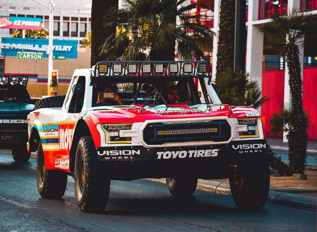 You guys are running a special livery for this event. What's so special about the Mint 400?