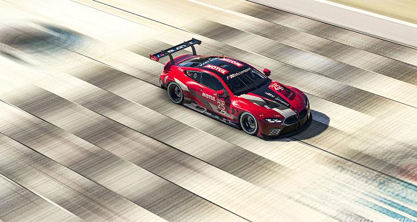 Motul BMW Team Sweep IMSA Sebring SuperSaturday on iRacing