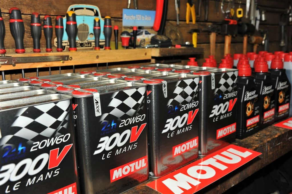 And what was the involvement from Motul?