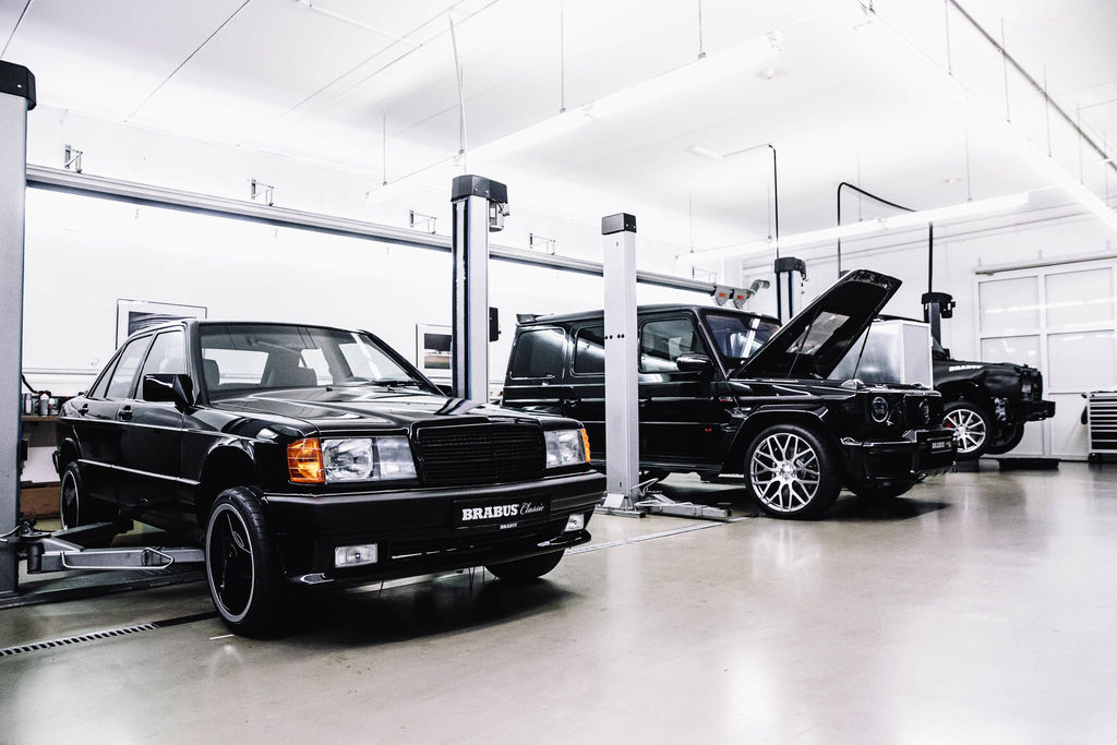 Sven, you've been at Brabus quite a while. When was Brabus founded and what's the story behind it?