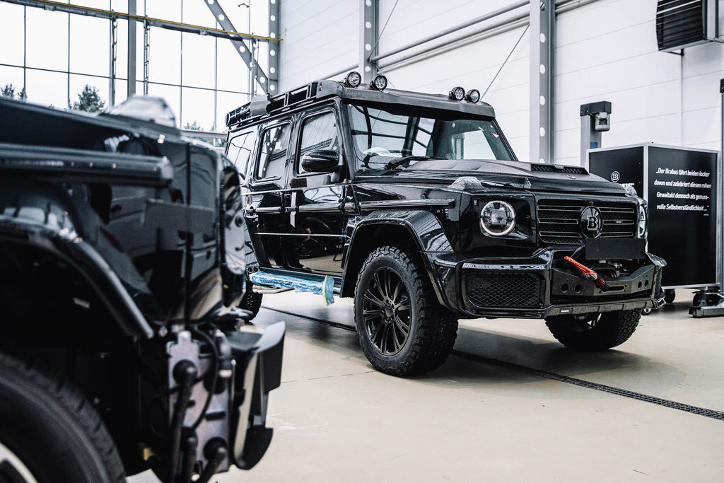 Brabus is synonymous with power and performance. Did the company ever venture into motorsports?