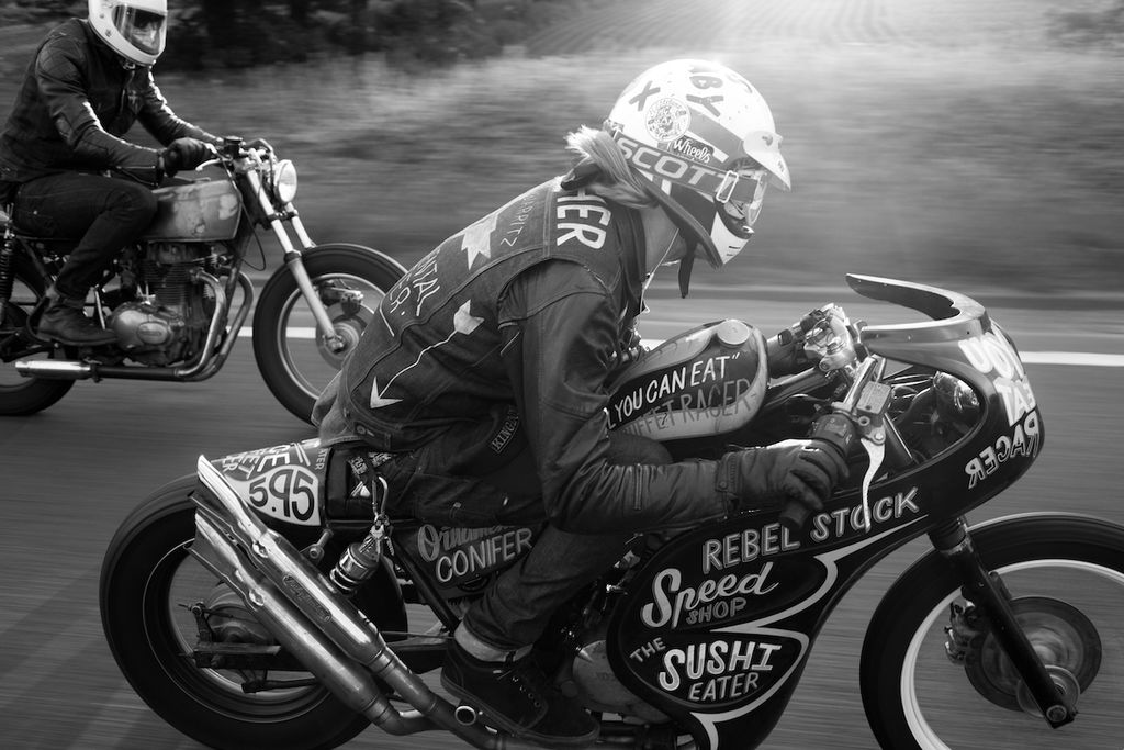 You specialise in the custom motorcycle scene. Tell us about that