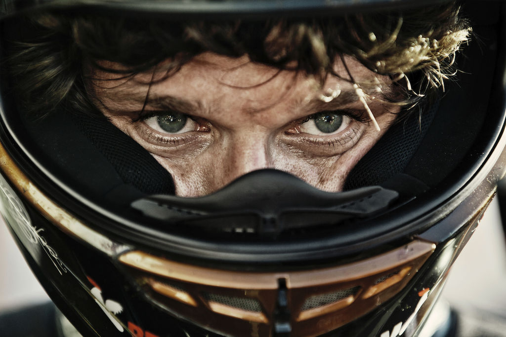 Tell us about the story behind your evocative picture of Guy at the IoM TT?