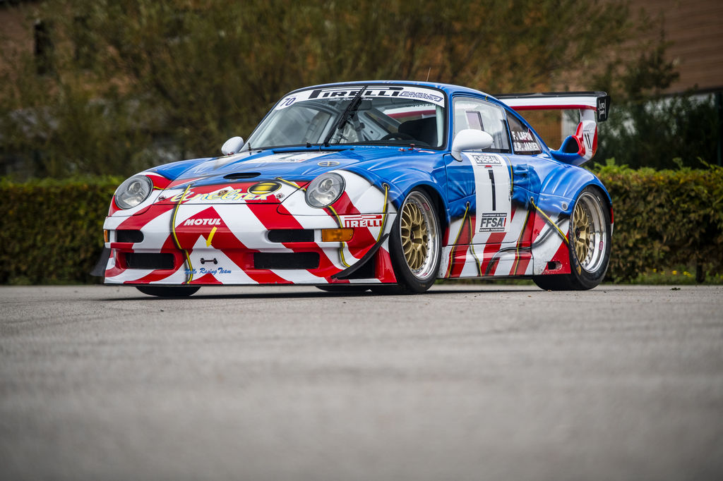 "Porsche 'art car' sale: ""Its striking Peter Klasen livery makes it so unique"""