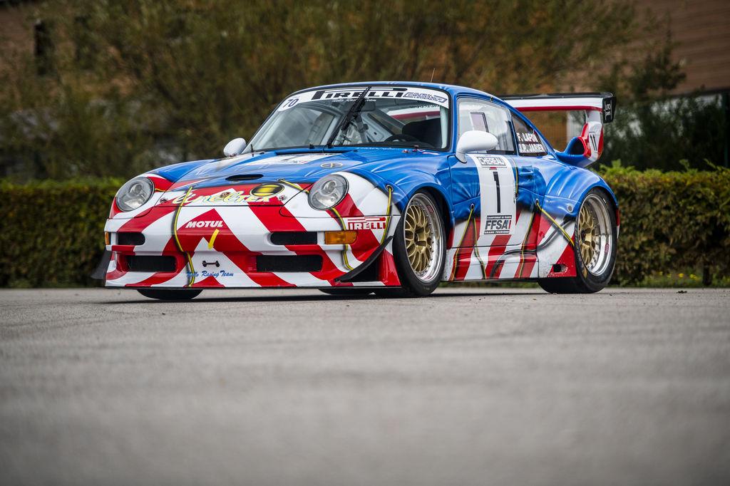 """Porsche 'art car' sale: """"Its striking Peter Klasen livery makes it so unique"""""""