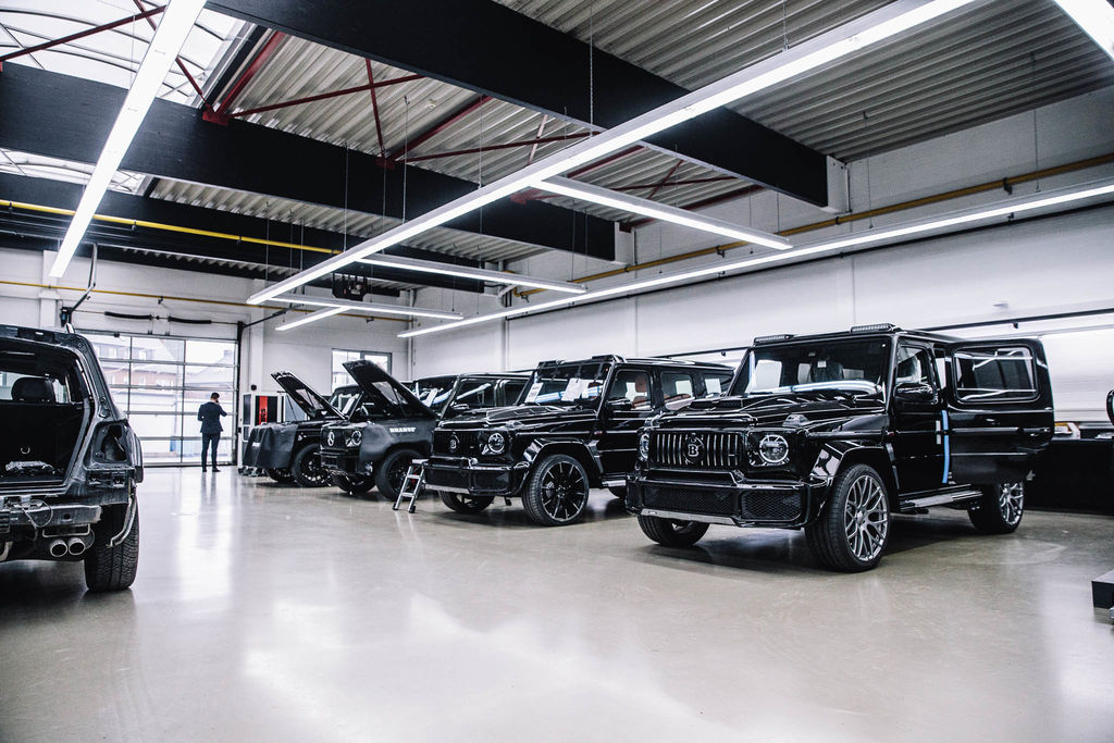 What's the process going from a Mercedes-AMG donor car to a Brabus?