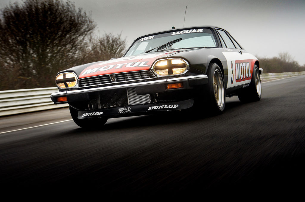 "The Motul TWR XJS racer: ""a hell of a thing"""