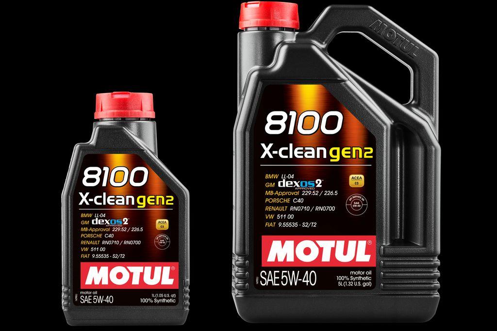8100 X-clean gen2 5W40