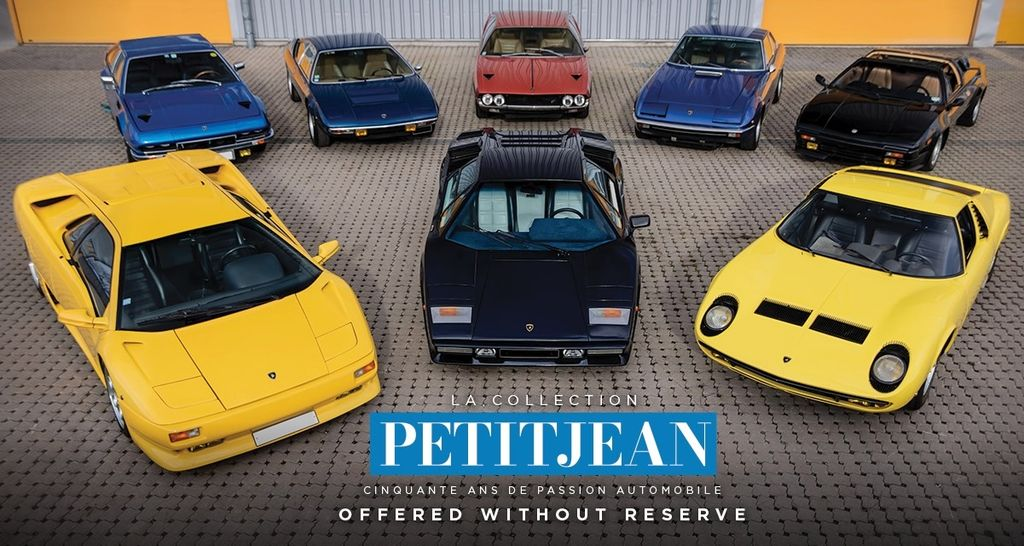 MARCEL PETITJEAN: EX-RACER'S € 9M CAR COLLECTION FOR SALE