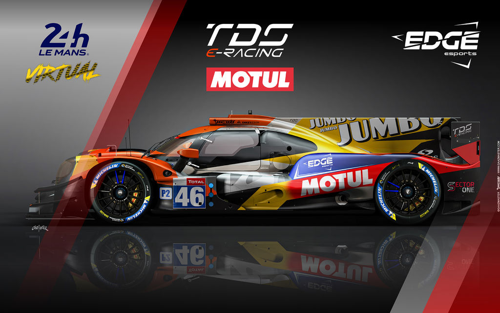 MOTUL JOINS THE VIRTUAL 24H OF LE MANS AS AN OFFICIAL PARTNER!