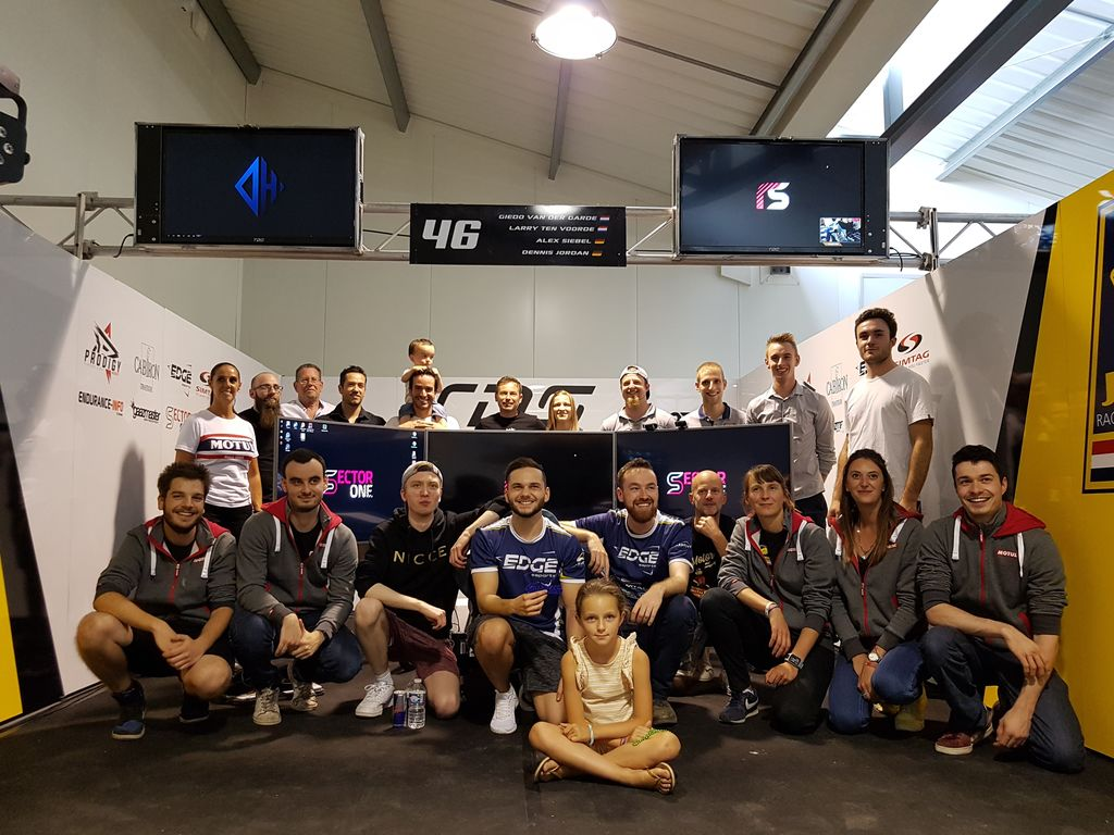 This weekend you ran the 24 hours of Le Mans Virtual together with the TDS team. What was that like ?
