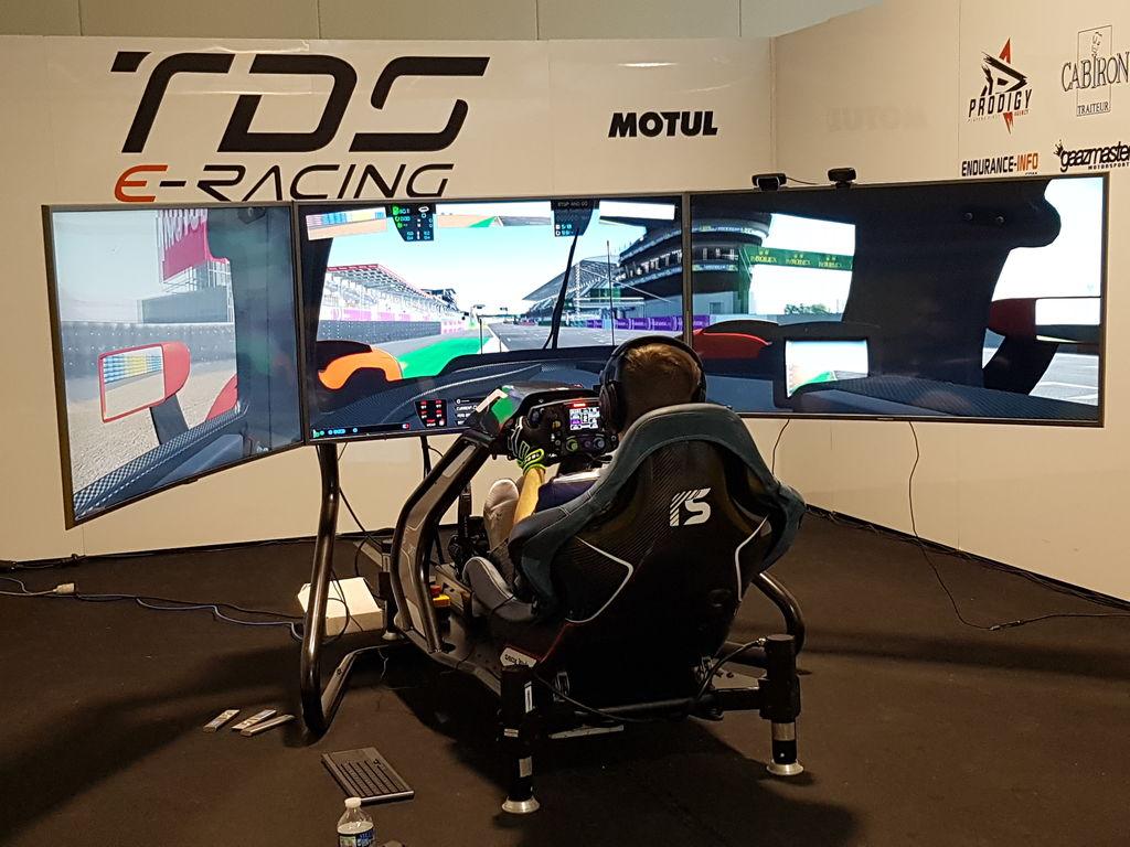 Andreas, comment avez-vous débuté les courses sur simulateur et comment l'équipe Edge Esports a-t-elle commencé ?