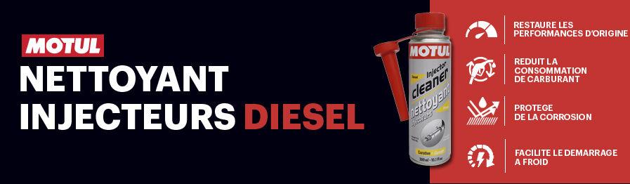 Nettoyant injecteur et circuit d'injection Diesel