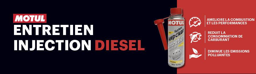 Nettoyant d'entretien du système d'injection Diesel