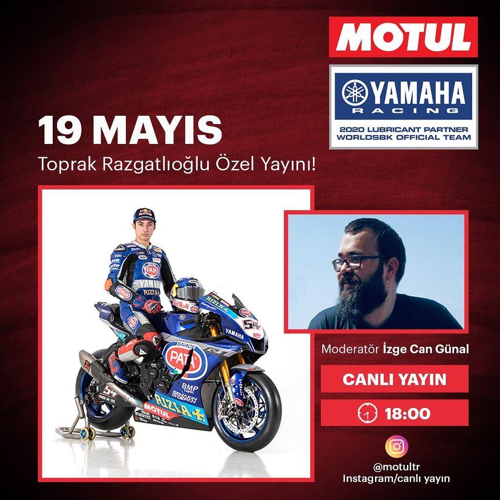 Toprak Razgatlıoğlu ile 19 Mayıs Instagram Özel Canlı Yayını