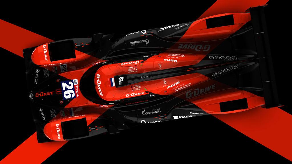 G-Drive Racing представляет новую ливрею Aurus 01