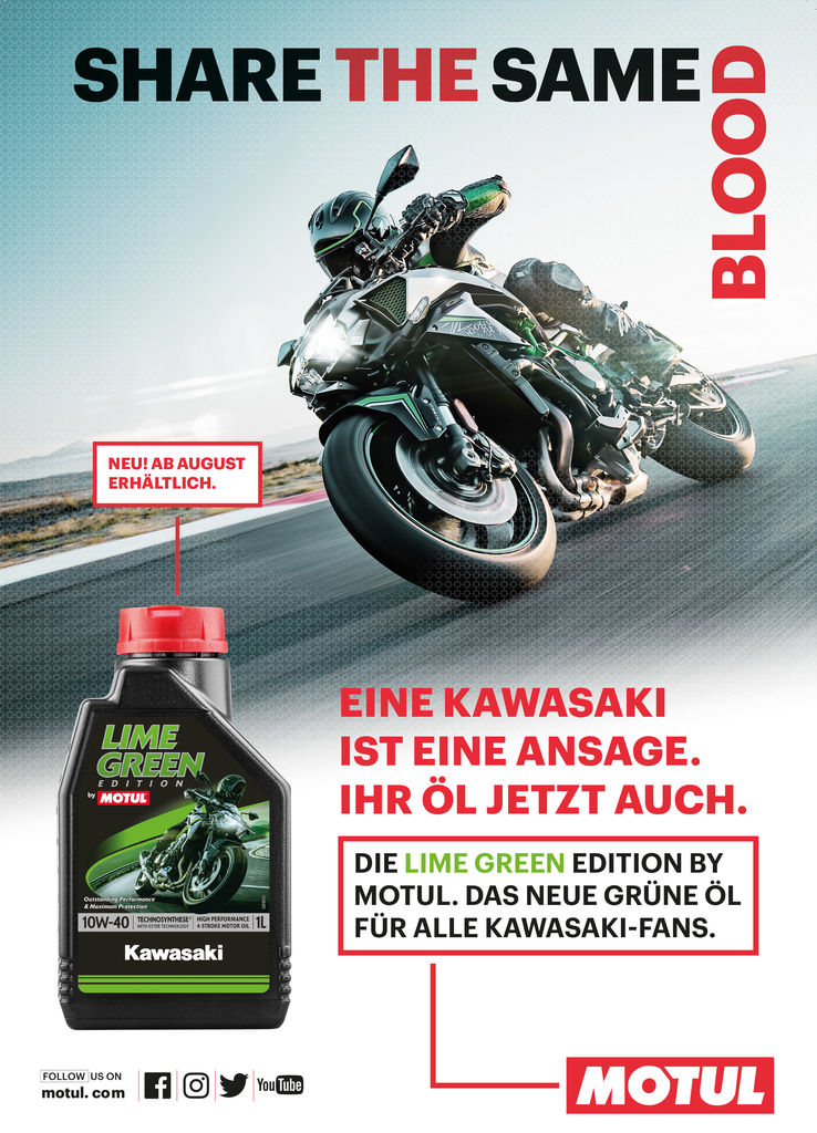 Lime Green Edition by MOTUL