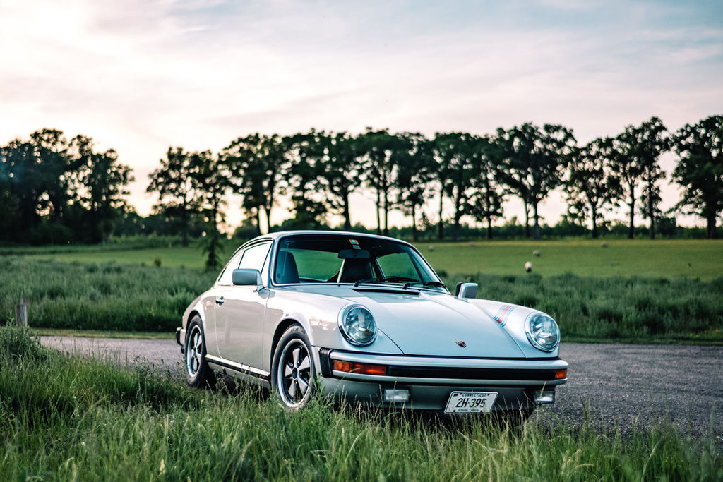 You also drive an interesting, classic 911. Can you tell us about that?