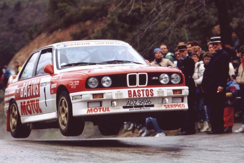 """Michel Périn, légende du rallye : """"La M3 Prodrive est parfaitement équilibrée""""."""