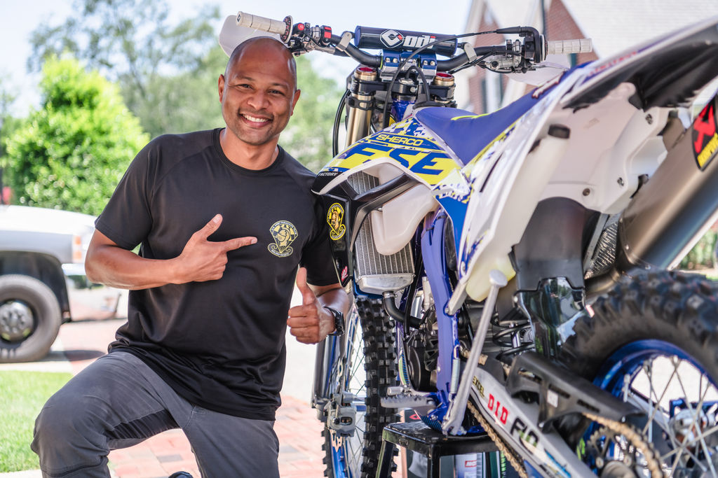Sherco USA Donates Bike to Deserving Military Member