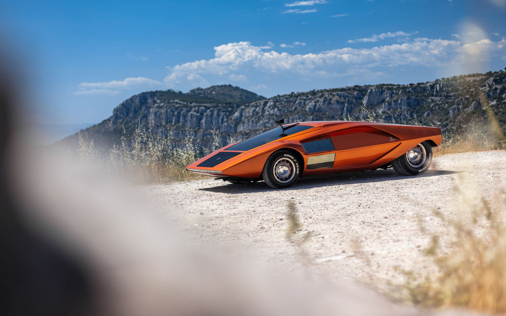 I particularly love your Lancia Stratos Zero shot. Can you tell me the story behind that?