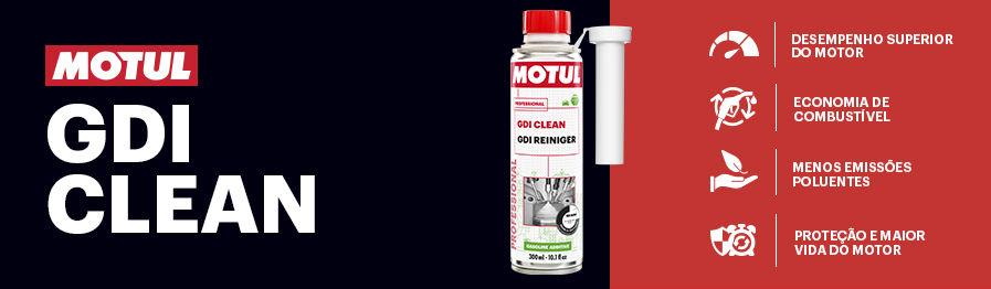 Através de uma poderosa fórmula capaz de desintegrar a sujidade acumulada no sistema, o GDI Clean garante operação e desempenho ideais ao mais alto nível do motor, enquanto reduz o consumo de combustível e as emissões de CO2 e NO2.