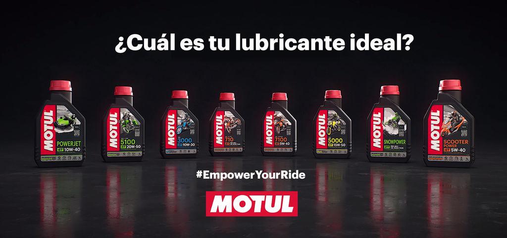¡GANA EL LUBRICANTE MOTUL POWERSPORT IDEAL PARA TU MOTO!