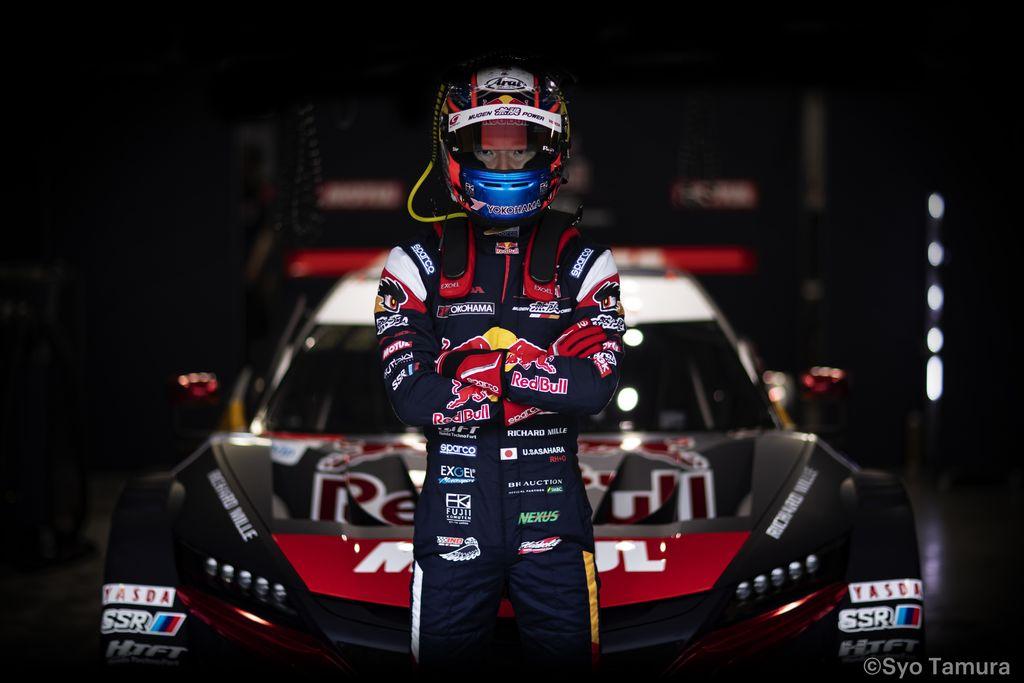 笹原右京 選手:「NSX-GTはルーフ付きのフォーミュラカーを運転するような感覚だ」
