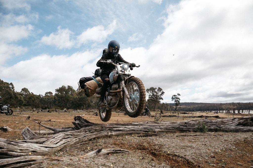 What was it like riding through Tasmania?