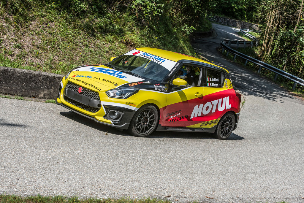 How did the idea for the Suzuki Swift Hybrid R1 come about?